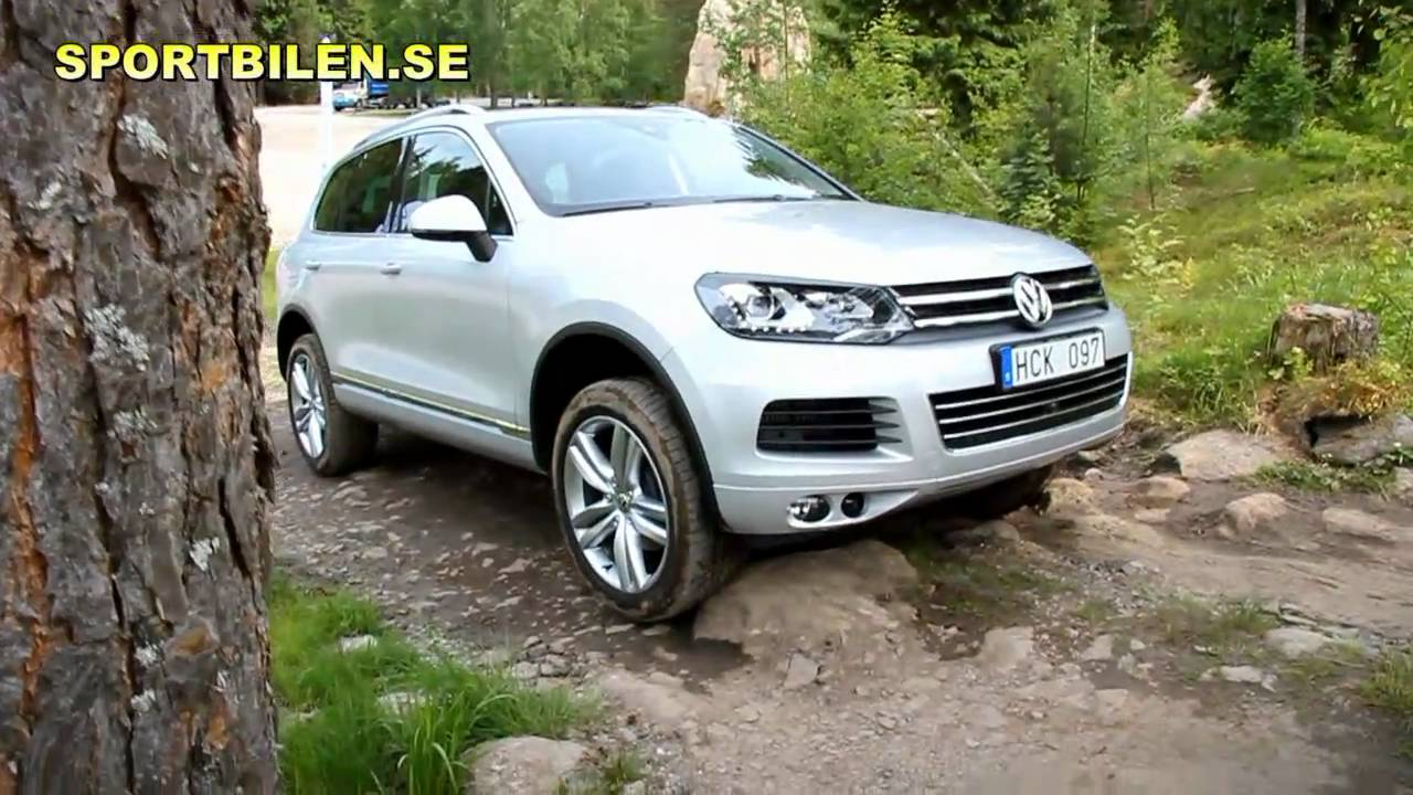 Vw Touareg 2011 Test Drive Off Road Youtube