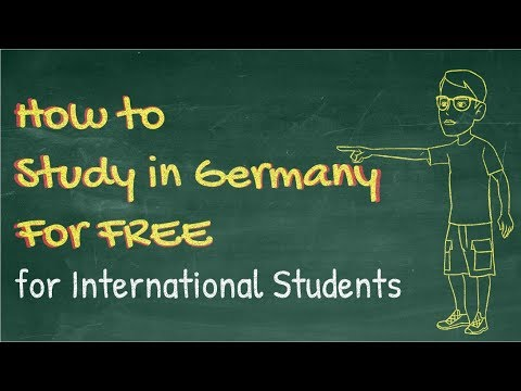 How To Study In Germany For Free - Germany For International Students In 2020