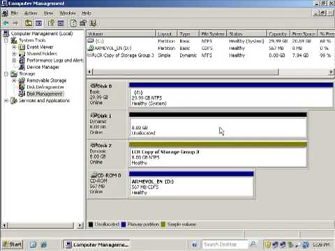 Exchange Server 2007 - LCR Configuration - Part 5 Of 8 Purpoulsy Fail LCR Storage Group