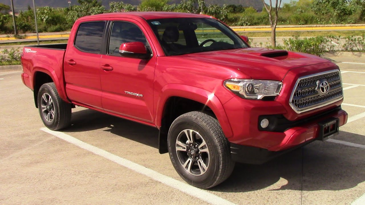 2016 Toyota Tacoma Trd Overview Mexico Version