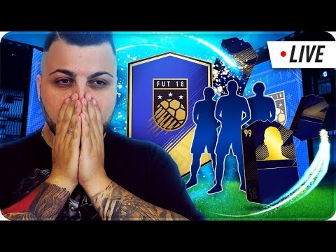 FINALMENTE I TOTY !!! 140.000 FIFA POINTS PACK OPENING [FIFA 18 ] [ SPONSOR 54/100] LIVE 🔴