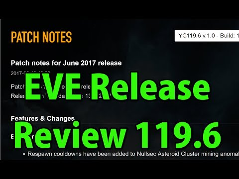🔴LIVE Release Review 119.6 - Fighters, Ship Redesigns, Rouge Swarm etc. - EVE Online in 4k