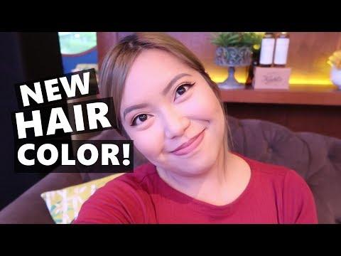 NEW HAIR COLOR!! (June 22, 2017) - saytioco