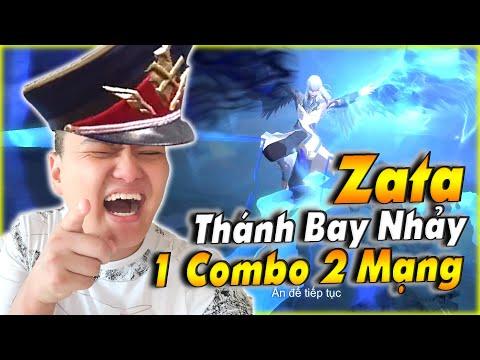 Liên Quân | Zata Bay Nhảy Như Chim Hành Team Bạn hàng Gấp - Tướng Thứ 100 Liên Quân Siêu Đỉnh