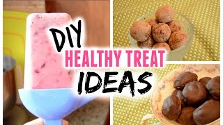 DIY Healthy Treat Ideas 2015! Fruity Popsicles, Chocolate Truffles and Faux Almond Joys Thumbnail