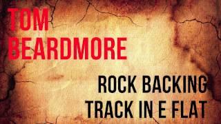 Rock Backing Track in E Flat - Guitar Jam Track