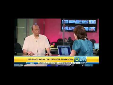 Ramon Magsaysay Jr for Senator 2013 - Interview with Pia Hontiveros