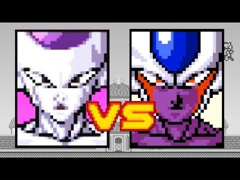 FRIEZA VS COOLER - Dragon Ball Z Devolution - Part 8