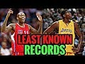 THE NBA's LEAST KNOWN RECORDS