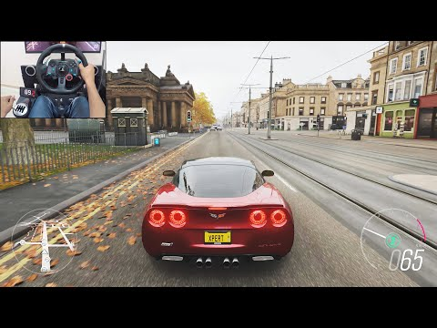 2009 Chevrolet Corvette ZR1- Forza Horizon 4 | Logitech g29 gameplay