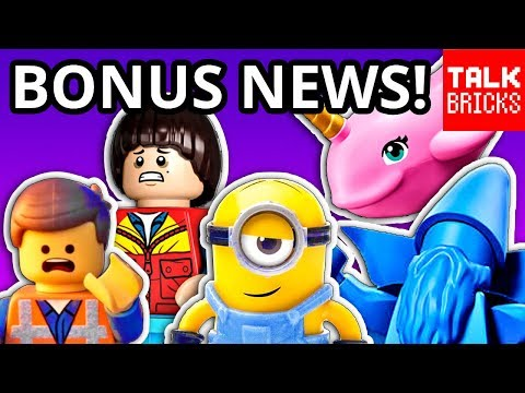 BONUS LEGO NEWS! MINIONS 2020?! Missing Summer 2019 Sets? More Stranger Things! Next LEGO Ideas Set!