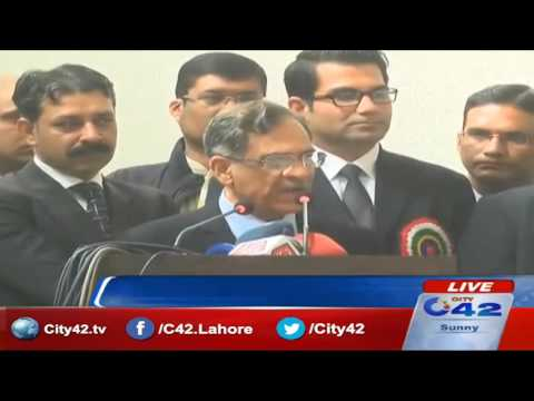 Justice Saqib Nisar Excellent Speech & Promised will capture Nawaz Sharif and make new Pakistan