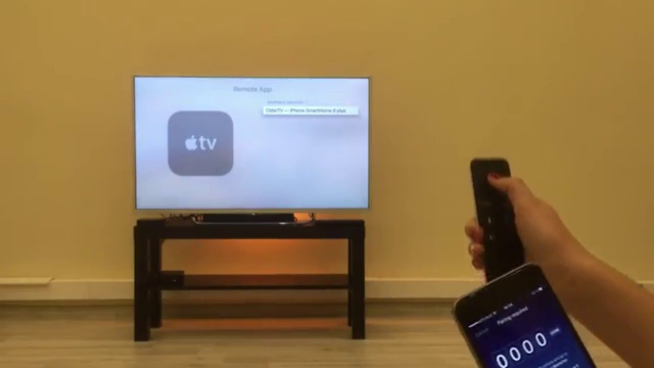 un apple tv