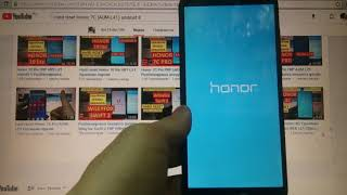 Hard reset Honor 7C Удаление пароля android 8