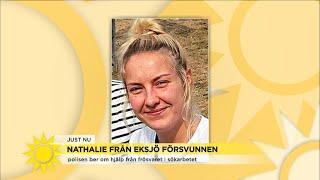 Polisen ber försvaret om hjälp i sökandet efter försvunna Nathalie: