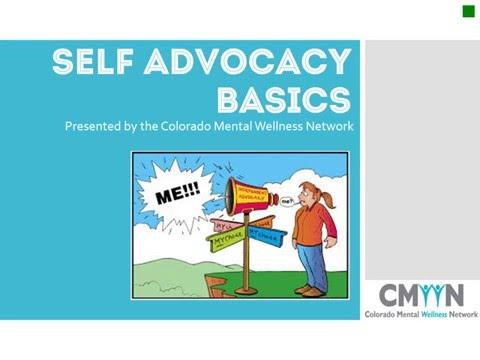 Self Advocacy Basics
