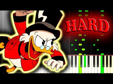 DUCKTALES 2017 - THEME SONG - Piano Tutorial