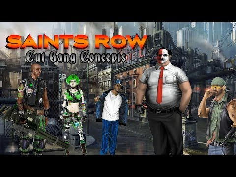 Cut Saints Row Gang Concepts