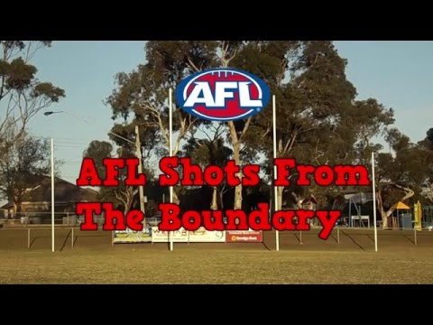 AFL Shots From The Boundary Round 1-5