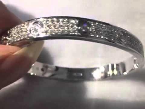 Cartier Love Bracelet Full Diamond