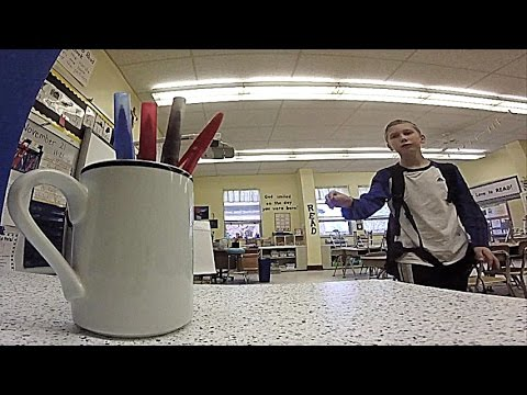 Marker Flips, Pen and Pencil Trick Shots | That's Amazing
