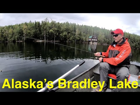 Trout Fishing Alaska's Bradley Lake