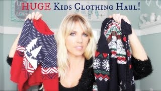 ❤ HUGE Kids Clothing Haul (From Christmas) ❤ Thumbnail
