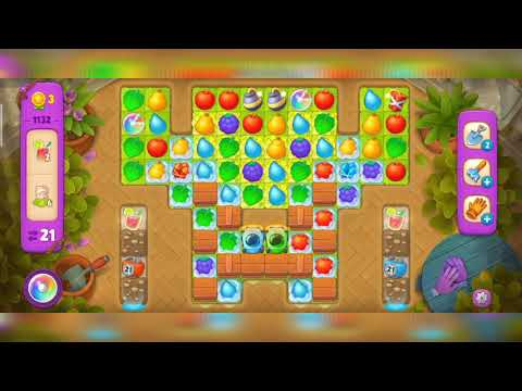 Gardenscapes Level 1132#gspgaming