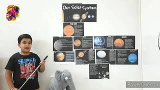 Our Solar System by Sanchit Gupta - Weekly challange