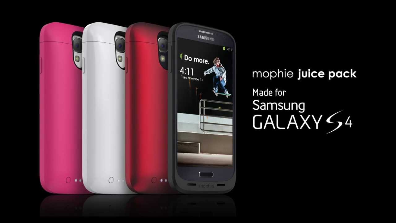 low priced 982e3 0b267 The mophie juice pack made for Samsung Galaxy S4