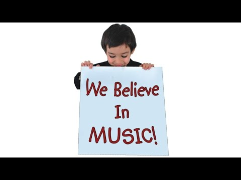 We Believe In Music - MusicK8.com Singles Reproducible Kit