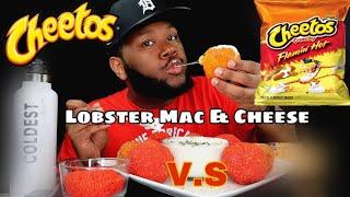 LOBSTER MAC N CHEETOS 먹방 MUKBANG + RECIPE 랍스터 마카로니 체력거리 먹거리 무광 + 조리법