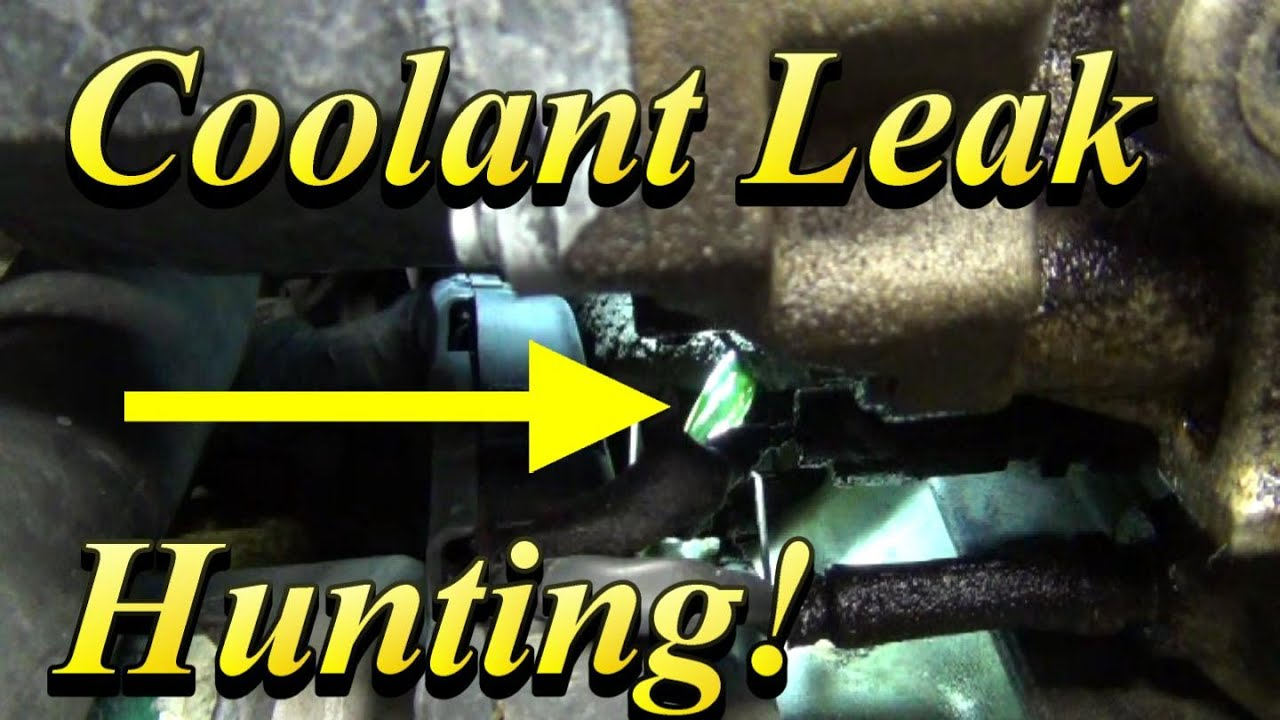 Coolant Leak Hunting Tips Bonus Accord Thermostat Change