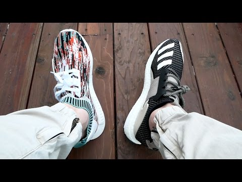 Adidas SNS NMD Gucci Glitch Datamosh Review!! + Day One Ultra Boost Review & On Feet!