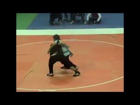 "FINALS Josh Waitzkin vs. ""The Buffalo"" - 2004 Tai Chi World Cup - Moving Step Push Hands"