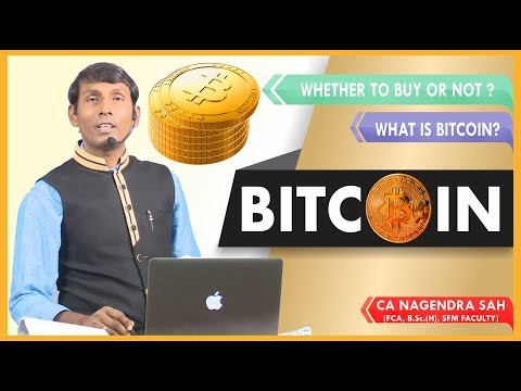 What is Bitcoin I Bitcoin Mining I Risk associated with Bitcoin I CA Nagendra sah