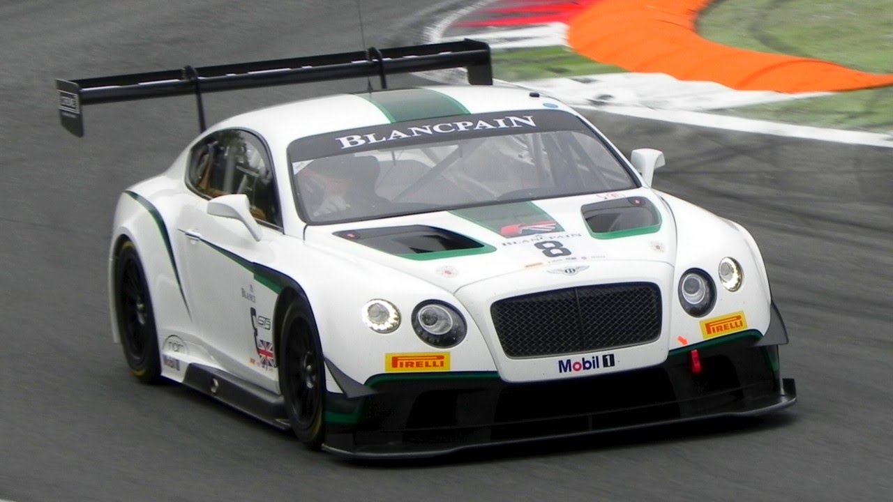 2014 Bentley Continental GT3 Sound In Action On Track