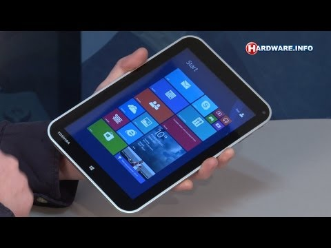 Toshiba Encore WT8-A-102 Windows 8.1 tablet review - Hardware.Info TV (Dutch)