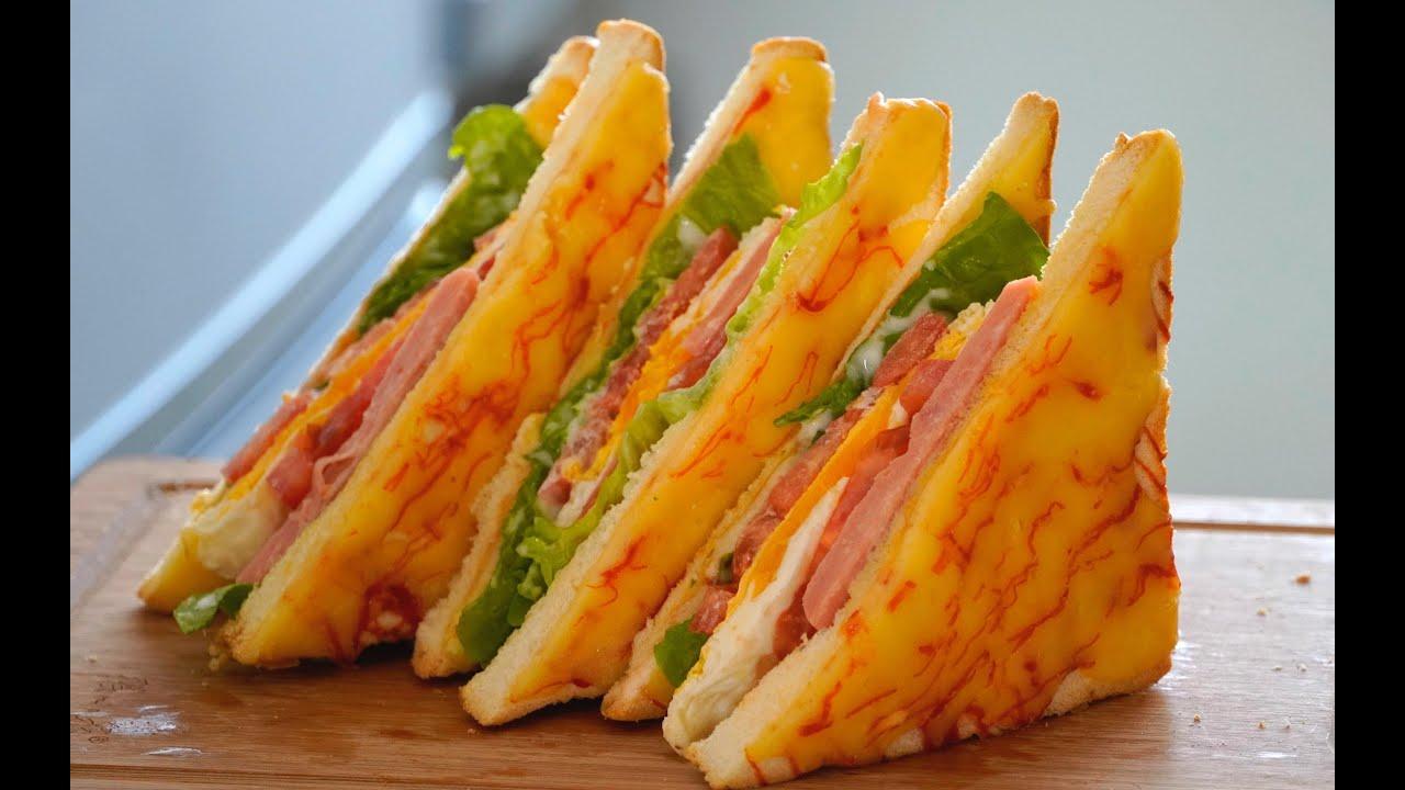 【三明治】别为孩子不吃早餐发愁了,试试三明治,3分钟学会,比肯德基好吃