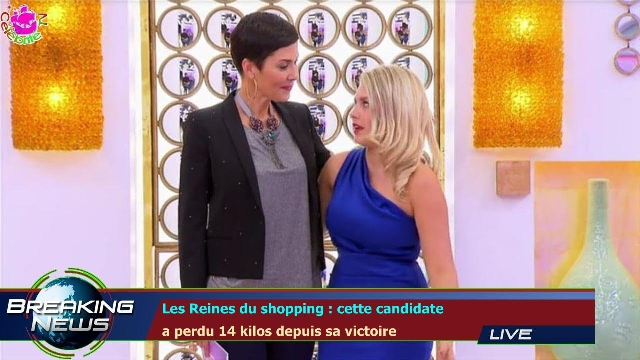 les reines du shopping cette candidate a perdu 14 kilos depuis sa victoire youtube. Black Bedroom Furniture Sets. Home Design Ideas