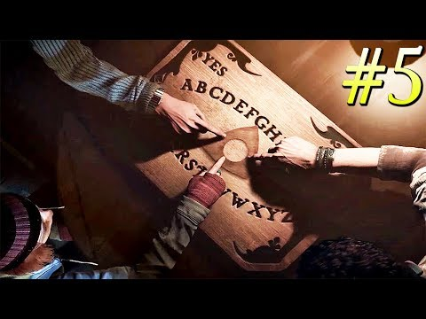 Let's use a OUIJA BOARD... 💀 UNTIL DAWN - Part 5