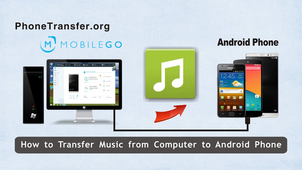 how to send music from android to iphone how to transfer from computer to android phone 1197