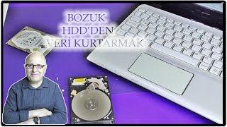 Bozuk HDD'den Veri Kurtarmak