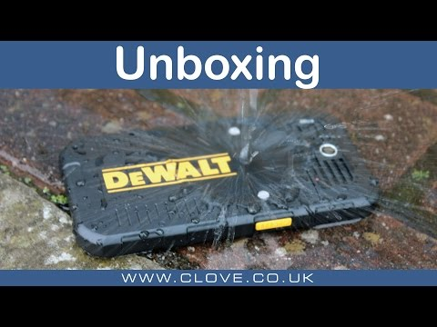 The DeWalt Phone MD501 Unboxing