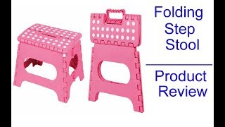 Folding Step Stool - Home Product Review To buy this product, click on the link given under: http://amzn.to/2ev7f0J Key Words: