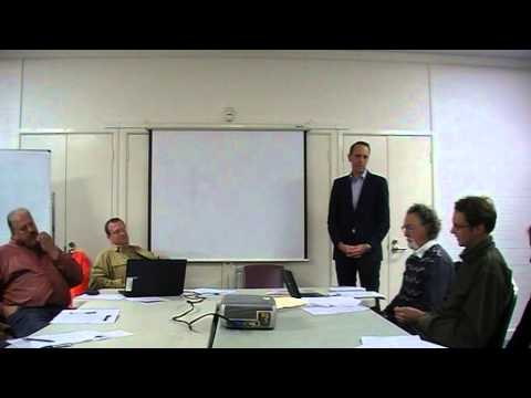 Simon Corbell addresses North Canberra Community Council 19 May 2015