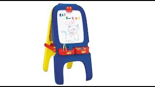 More Fun Than Surprise Eggs - Crayola Magnetic Double Sided Easel