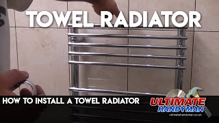 Gambar cover How to install a towel radiator