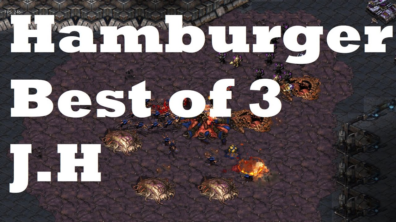 Starcraft Casts#173 - HamburgerSasu(뚜까랜덤) vs HelloToday(J.H/Voss) - Best of 3