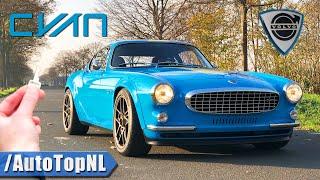 $500,000 VOLVO P1800 Cyan Racing REVIEW on AUTOBAHN by AutoTopNL